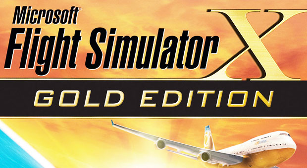 Microsoft Flight Simulator X Gold Edition.
