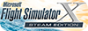Microsoft Flight Simulator X: Steam Edition logo