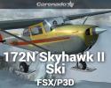 Cessna 172N Skyhawk II Ski for FSX/P3D