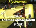 1918 Thomas Morse Scout X for FSX/P3D