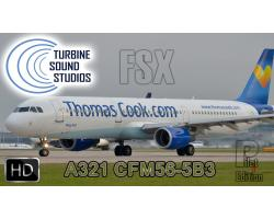 Airbus A321 HD CFM56-5B3 Pilot Edition Sound Pack for FSX/P3D