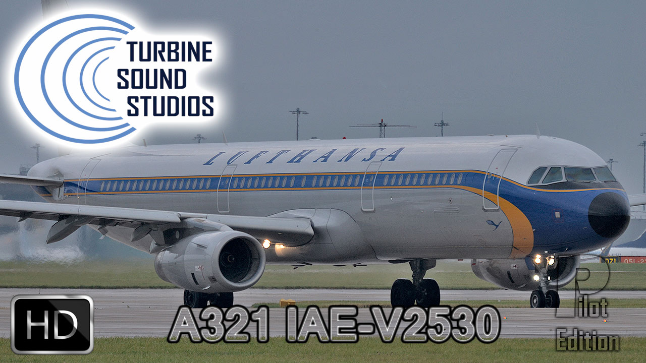 Airbus A321 HD IAE-V2530 Pilot Edition Sound Pack for FSX/P3D