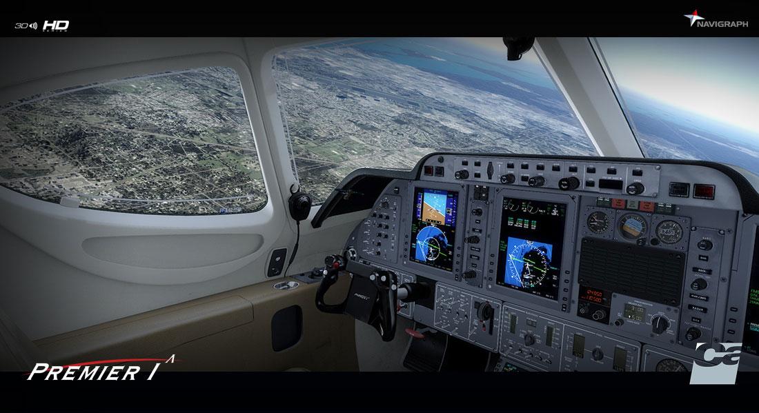 Beechcraft 390 Premier IA for FSX/P3D