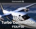 690B Turbo Commander for FSX/P3D