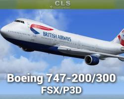 Boeing 747-200/300 HD