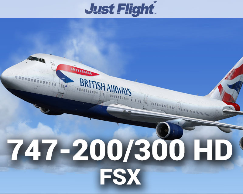 747-200/300 HD for FSX/P3D