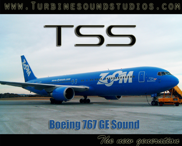 Boeing 767 GE Sound Pack for FSX/P3D