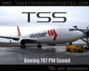 TSS Boeing 767 PW engine sound pack - FSX/FS2004