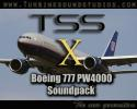 TSS Boeing 777 PW4000-112 sound pack for FSX
