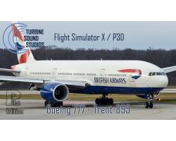 Boeing 777 RR Trent-895 Pilot Edition Sound Pack for FSX/P3D