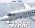 800XP BizJet for FSX/P3D