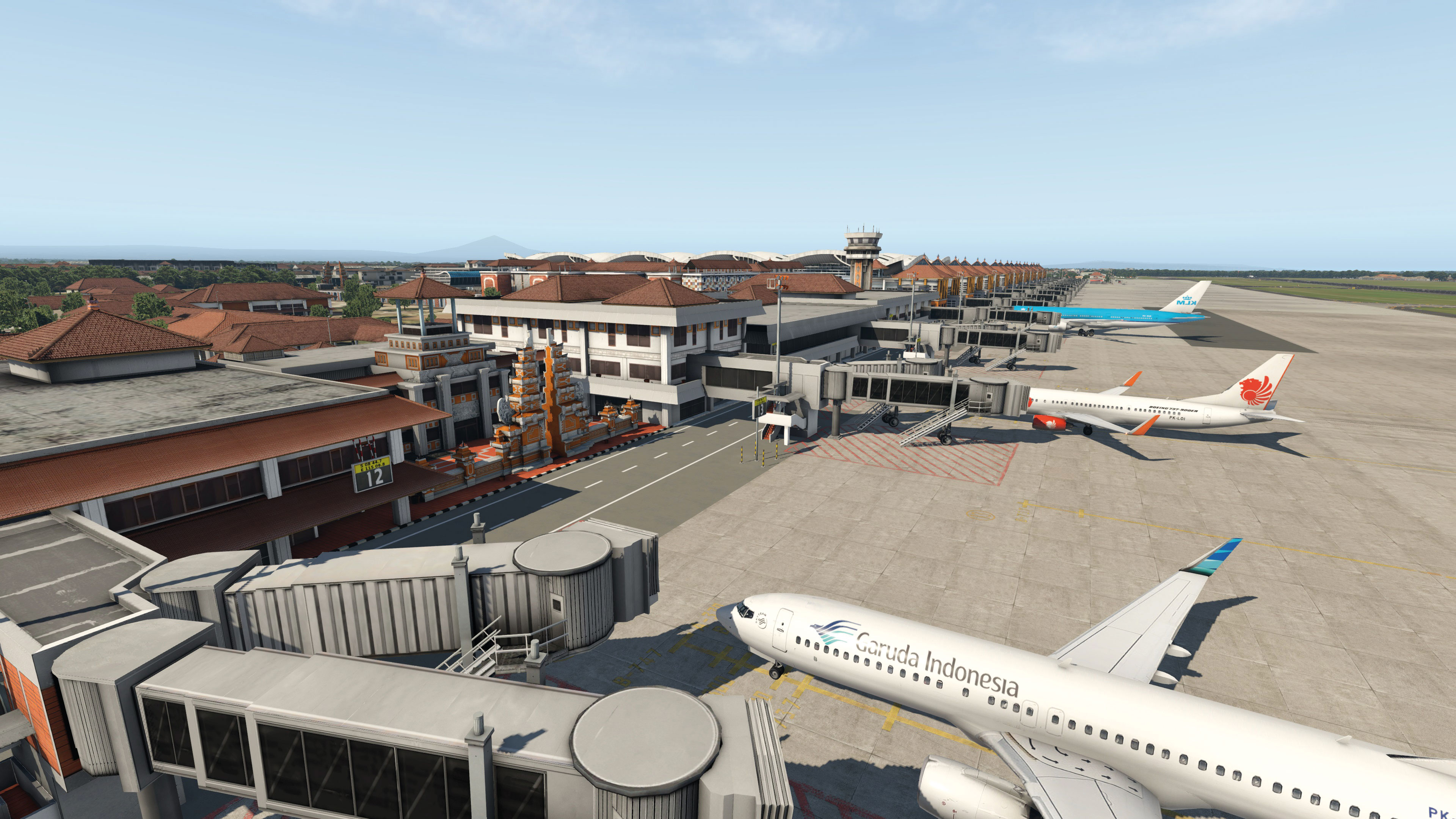 Aeroporto Bali : Airport bali for plane by aerosoft