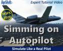 Using Autopilot in Jet Aircraft in Microsoft Flight Simulator Tutorial Video