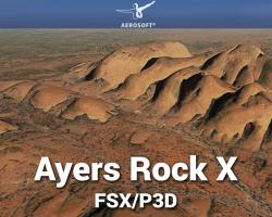 FSDG Ayers Rock X Scenery for FSX/P3D