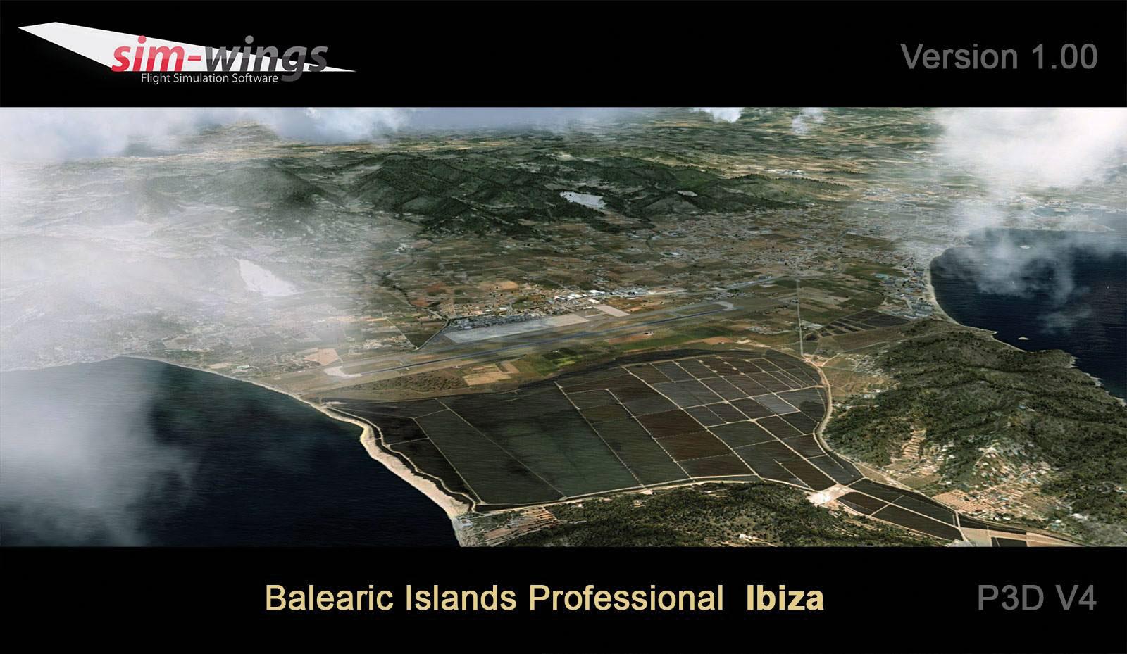 Ibiza: Balearic Islands Professional Scenery for P3D