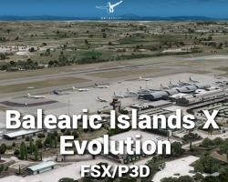 Balearic Islands X Evolution Scenery for FSX/P3D