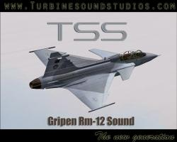 Gripen Rm-12 Sound Pack for FSX/P3D