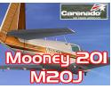 Carenado Mooney 201 M20J for FSX
