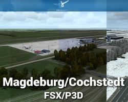 EDBC Magdeburg/Cochstedt Airport Scenery