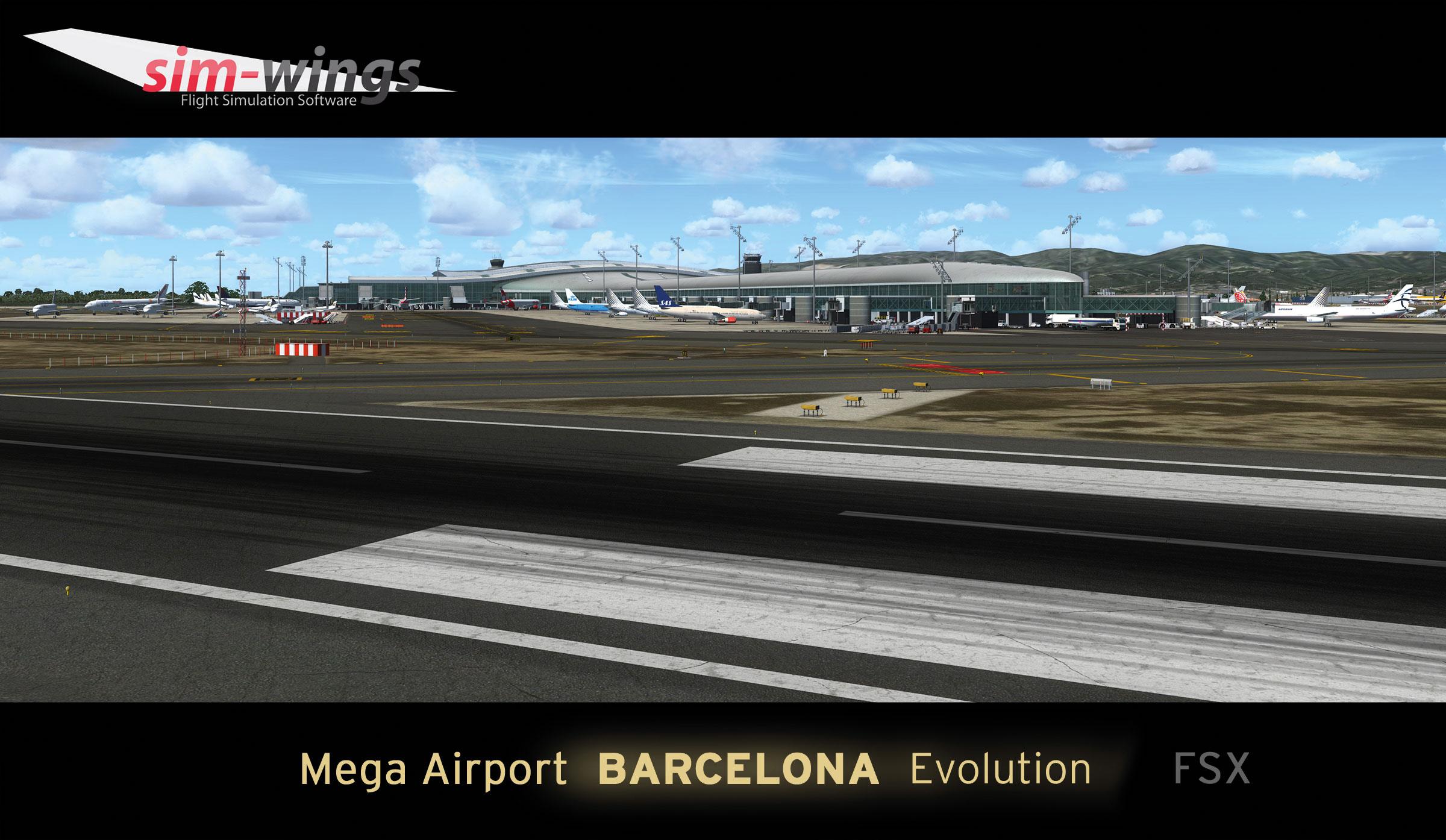 Fsx Mega Airport barcelona X