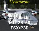 Mitsubishi MU-2B-60 for FSX/P3D