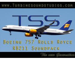 Boeing 757 Rolls Royce RB-211 Sound Pack for FSX/P3D