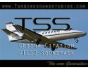 TSS Cessna Citation PW-JT15D sound pack for FSX & FS2004