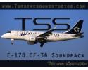 EMB-170 CF-34 Sound Pack for FSX/P3D