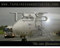 DC-9 JT8D Sound Pack for FSX/P3D