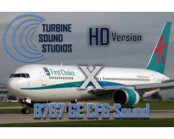 Boeing 767 GE CF6 HD Sound Pack for FSX/P3D