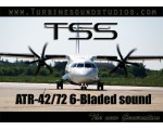TSS ATR-42/72 6-Bladed PW engine sound pack - FSX/FS2004