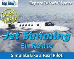 En Route: Jet Simming in MSFS 2020 Tutorial Video