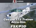 Cessna 172 Trainer Accu-Sim for FSX/P3D