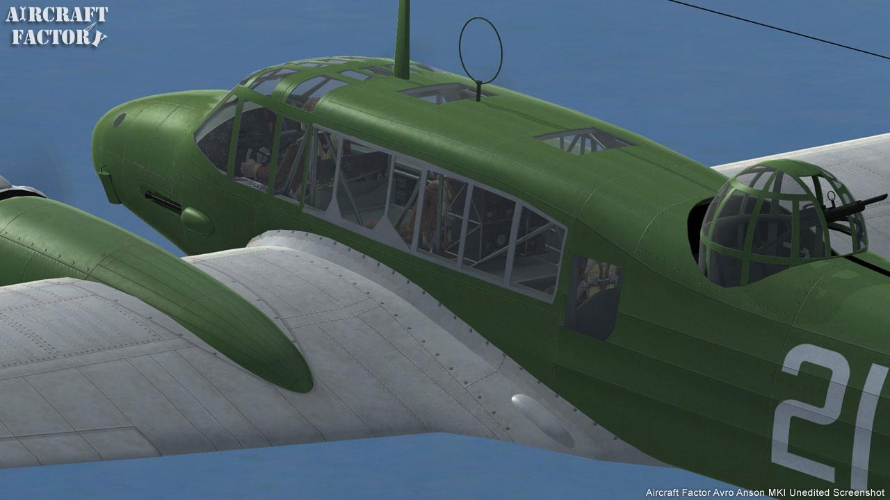 Aircraft Factory: Avro Anson MKI for FSX
