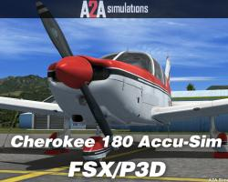 Piper Cherokee 180 Accu-Sim for FSX/P3D