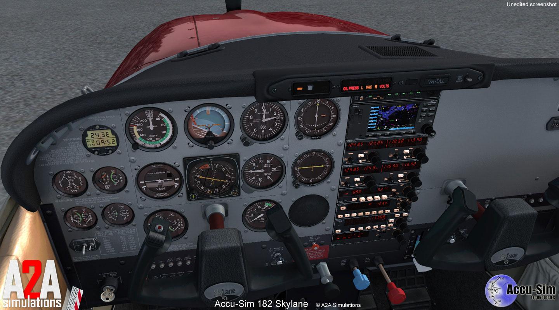 Cessna 182 Skylane Accu-Sim for FSX/P3D