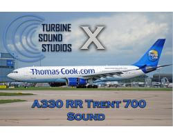 Airbus A330 RR Trent 700 Sound Pack for FSX/P3D