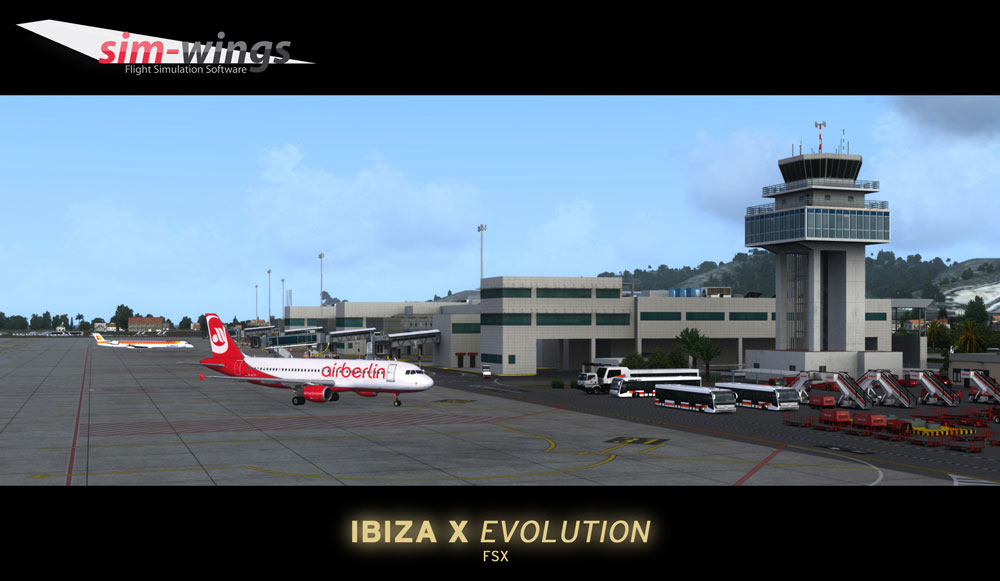 Ibiza X Evolution Scenery for FSX/P3D
