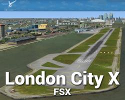 London City Airport X Scenery