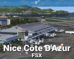 Nice Côte D'Azur X Scenery for FSX/P3D