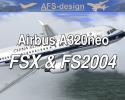 AFS Airbus A320neo for FSX & FS2004