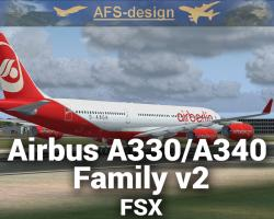 Airbus A330/A340 Family v2 for FSX