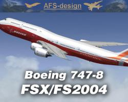 Boeing 747-8 for FSX & FS2004