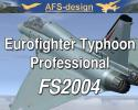 Eurofighter Typhoon Professional for FS2004