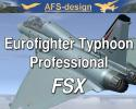 AFS Eurofighter Typhoon Professional for FSX