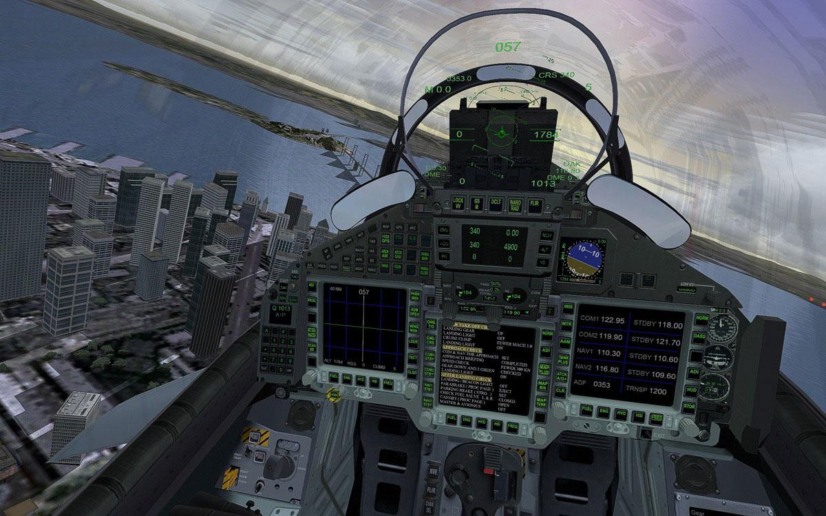 Microsoft Flight Simulator X: Steam Edition - Eurofighter 2016 pc game Img-2