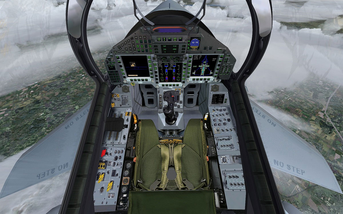 Pictures of Eurofighter Typhoon Cockpit - #rock-cafe