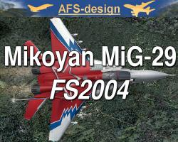 Mikoyan MiG-29 for FS2004