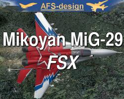 Mikoyan MiG-29 for FSX