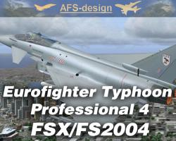 Eurofighter Typhoon Professional 4 for FSX/FS2004